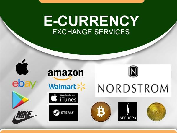 Bitcoins and Giftcards to naira